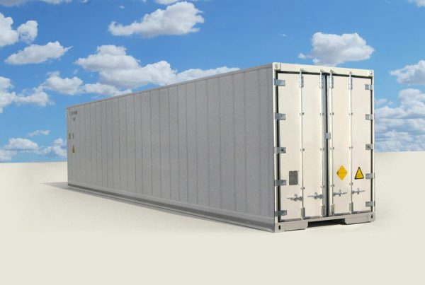 Composite reefer container